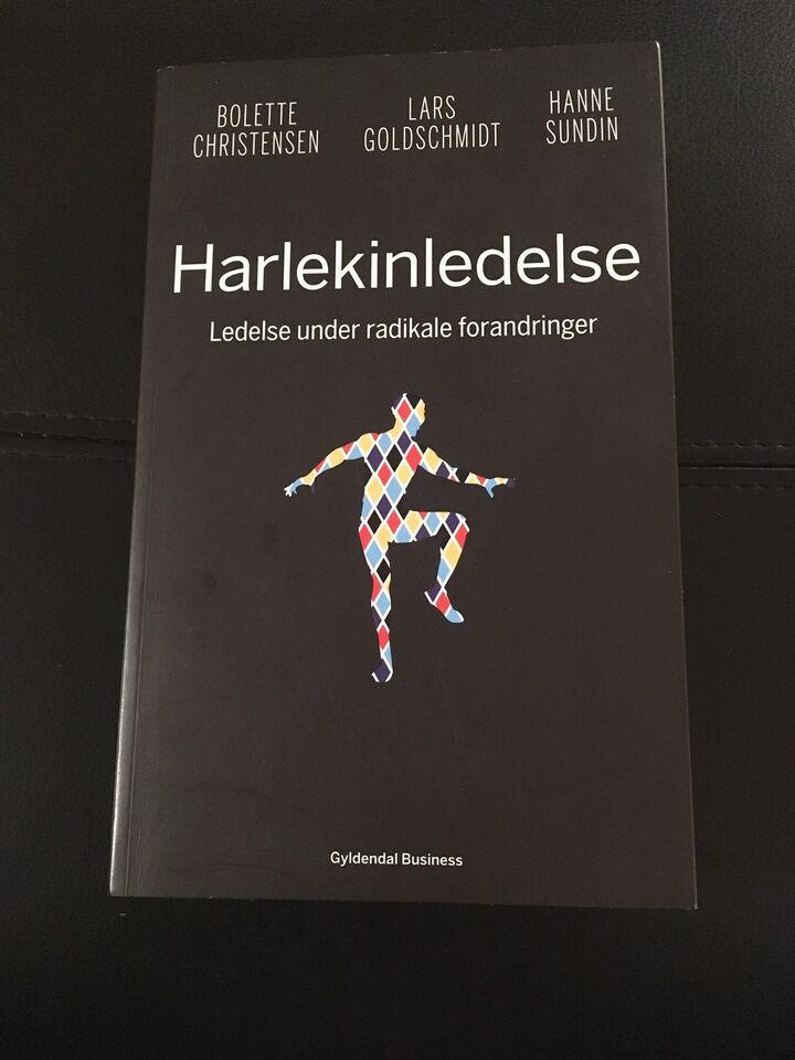 Harlekinledelse, Lars Goldschmidt m.fl., emne: