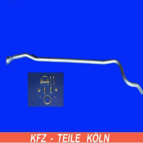 Citroen C2 1.1  Abgasrohr Auspuffrohr Mittelrohr