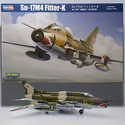 HOBBY BOSS 1/48 RUSSIAN SU-17M4 FITTER K MODEL KIT