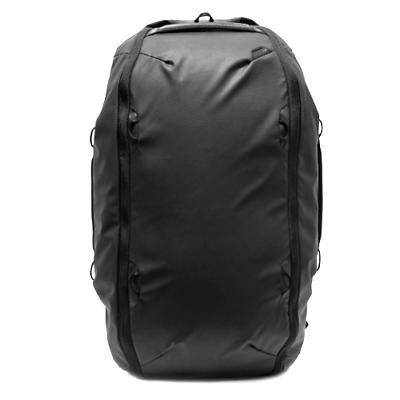 Cámara duffelpack de viaje de diseño Peak bolsa de fin de semana 65L-Negro