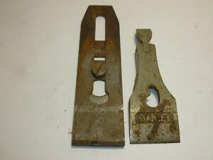 Vintage-Stanley-Bailey-NO-4-Plane-2-034-Blade-and-Blade-Cap