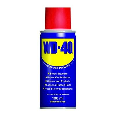 WD-40 44201 Multi Purpose Corrosion Protection 100ml Oil Dirt Grease Remover