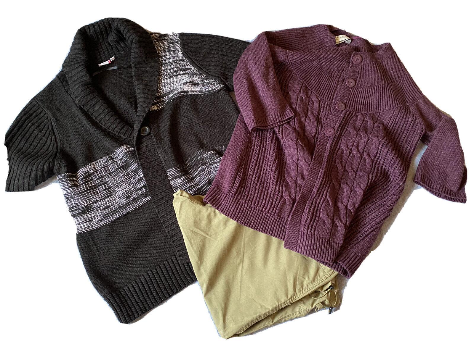 Kleidungs Paket 23 Teile Damen in Größe 44,46,L,XL (Capri-) Hosen Westen