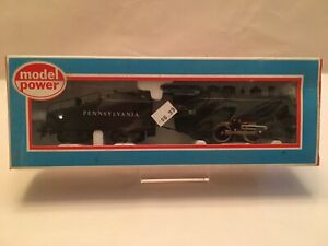 RARE-Vintage-HO-scale-Model-Power-0-4-0-Steam-Locomotive-for-Penn-RR-6631