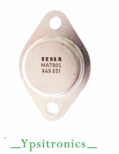 LOTx2 MA=LM 7805K SPANNUNGS REGLER VOLTAGE REGULATOR T-3 5V POS.//1.5A TESLA-NEW