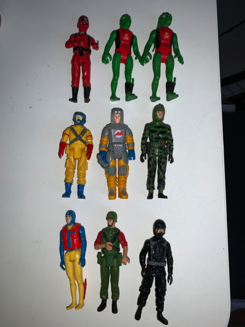 Action Force GI joe Palitoy, Palitoy, Flotte action force…