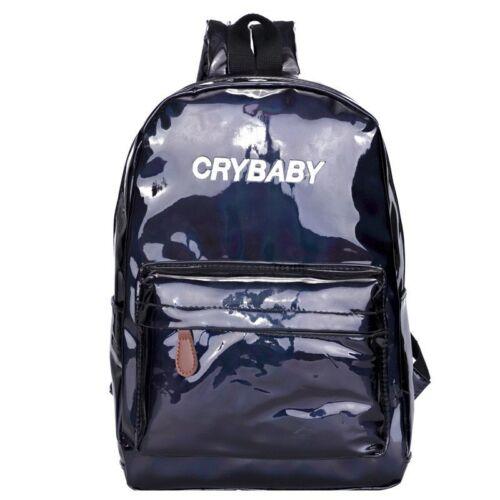 Hip Pop Bag Girl/'s Women Backpack Shoulder Bag PU Leather School Rucksack Street