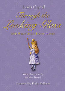 Carroll-Lewis-Through-The-Looking-Glass-And-what-Alice-found-there-Very-Good