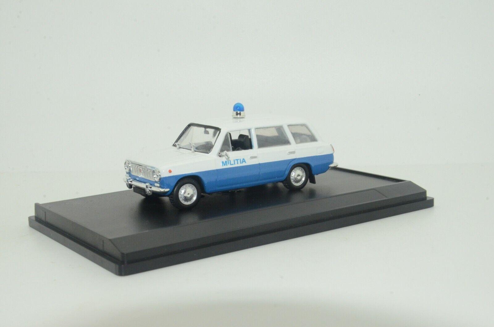 RARE     Lada Vaz 2102 Militia Romania Police Custom Made 1 43