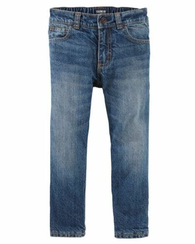 Oshkosh B/'Gosh Toddler Boys/' Microfleece-Lined Jeans Dark Heritage Wash NWT