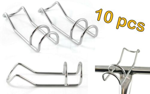 10x STAINLESS STEEL 6MM MARINE DIY FISHING DOUBLE WIRE ROD HOLDER SNAPPER RACK C
