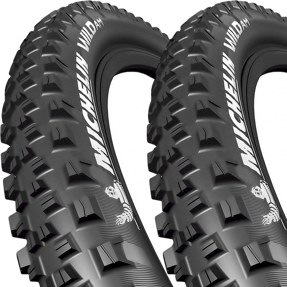 2x Michelin Reifen Wild AM Performance falt 27.5x2.80 71-584 71-584 71-584 TLR GUM-X Tri- 820f22