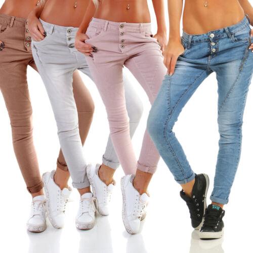 Lexxury glissiᄄᄄre femmes boutonnᄄᆭe fermeture Jeans avec skinny ᄄᄂ Jeans pour doeBrCx