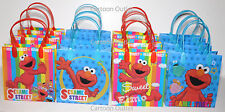 12pcs Sesame Street Elmo Licensed Goodie Party Favor Gift Birthday ...