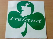 irish shamrock ireland folk vinyl car sticker graphic windows walls doors map
