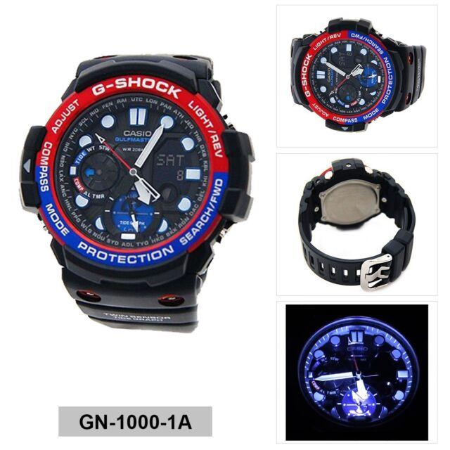 Casio Mens Analog-Digital Sport Watch G-SHOCK GULFMASTER GN-1000-1A