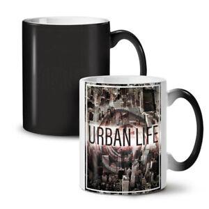 Urban Life City Fashion NEW Colour Changing Tea Coffee Mug 11 oz   Wellcoda