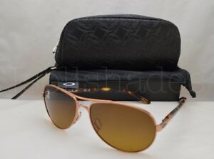 f537a9026e Oakley FEEDBACK (OO4079-14 59) Rose Gold with Brown Gradient ...