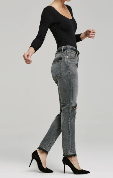 $428 Authentic Citizen Of Humanity Women's Liya High Rise Shadow Pocket Jeans