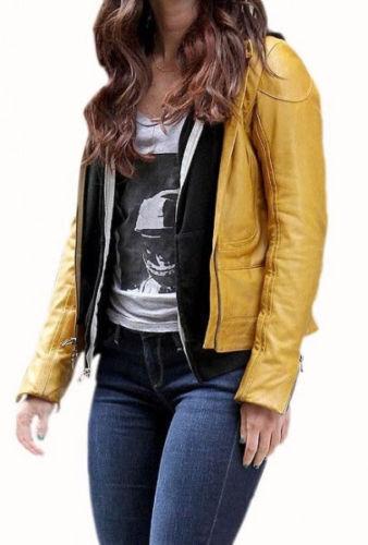 TEENAGE MUTANT NINJA TURTLES MIGAN FOX APRIL O/'NEIL YELLOW JACKET