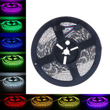 Hot 5m 500cm 5050 SMD RGB 300LEDs LED Flexible Light Strip Lamp DC 12V