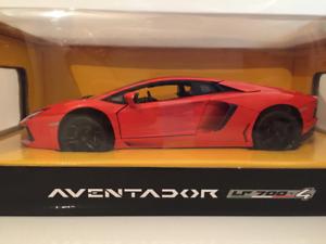 Lamborghini Aventador Lp700 Orange Rastar 61300 Nouveau 1:18 Echelle