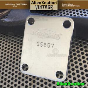 Kramer-Vintage-1983-to-1984-Neck-Plate-5-digit-neckplate-8