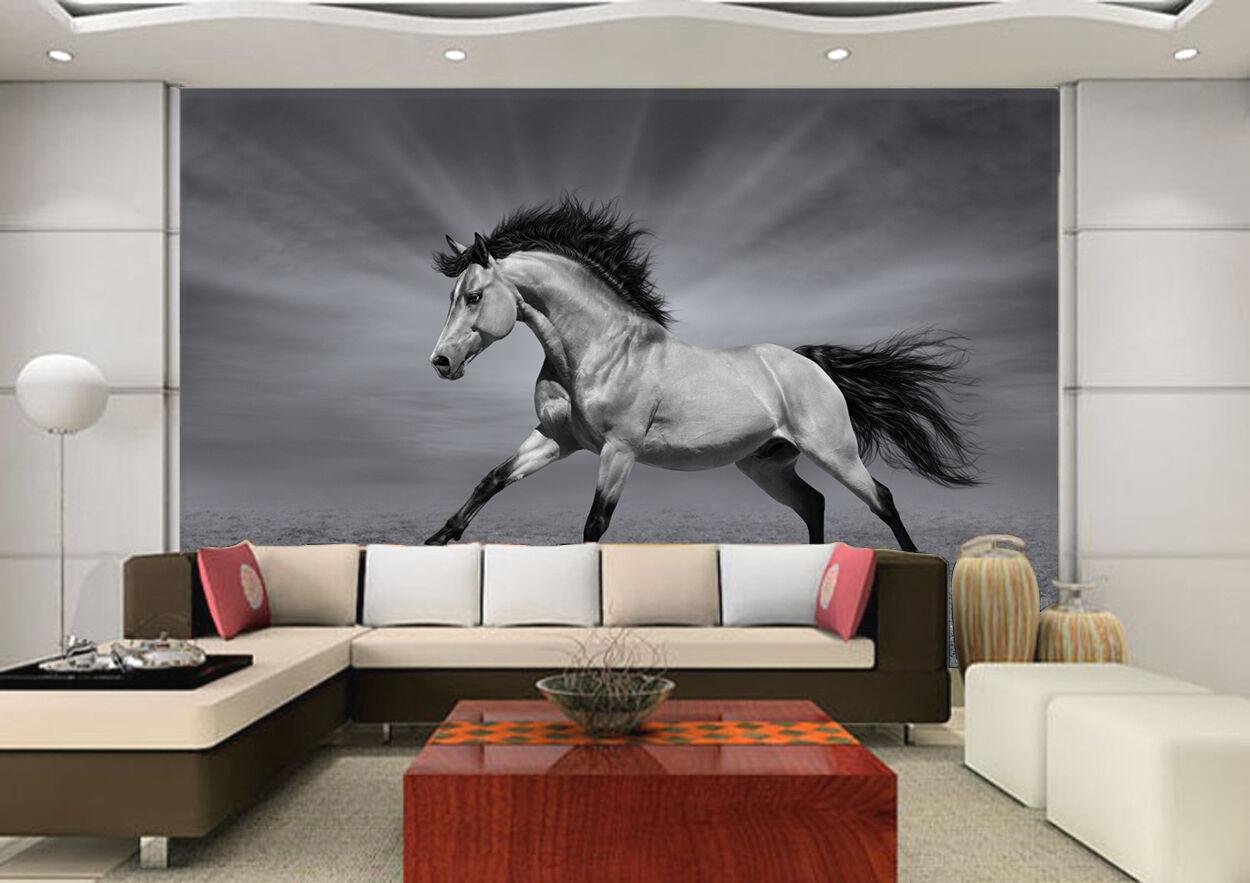 3D Horse Animal Painting 257 Wall Paper Wall Print Decal Wall AJ WALLPAPER CA