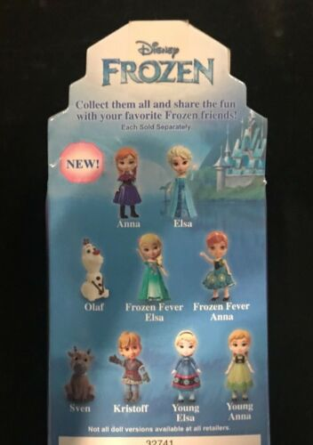 Disney Princess Mini Toddler Frozen II 2 Elsa /& Anna Doll toy posable