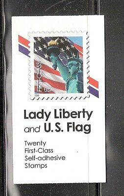 Bk300 Ndn Lady Liberty Us Flag Vending Booklet 3974 Ebay