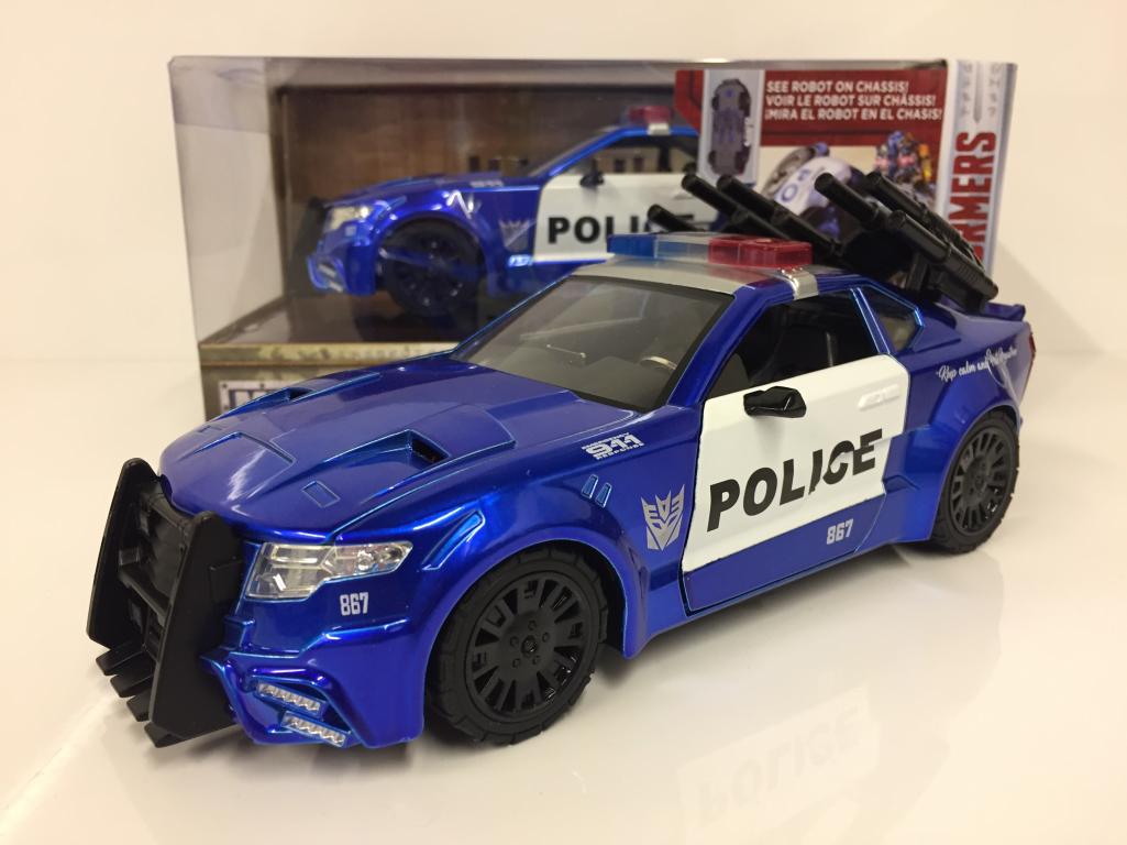 Transformers The Last Knight Barricade Jada 98400 1 24 Scale