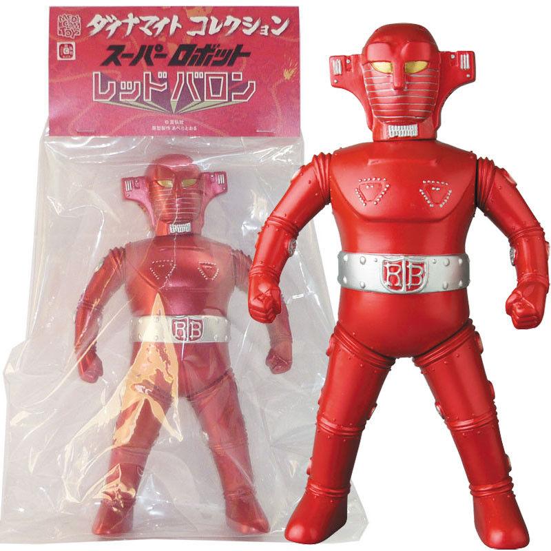 Medicom Dynamite Collection Sofubi Super Robot rosso Baron  Classic Color Ver.