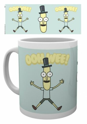 #127235 9x8cm Mr Poopy Butthole Poster Foto-Tasse Becher Rick And Morty