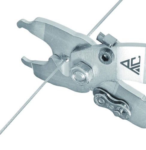 BikeTool Bicycle Bike Chain Missing Link Pliers/&Cable Cutter 5 in 1 Tool Gray