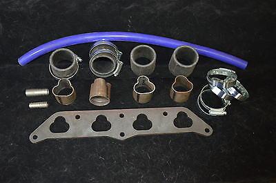 Polo 6N 16v Bicicleta de carbohidratos//cuerpos de acelerador Hazlo tú mismo Colector De Admisión Kit 38mm para adaptarse CBR