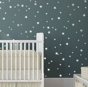 Details About Star Wall Stickers Mixed Size Kids Decal Art Nursery Bedroom Vinyl Decoration