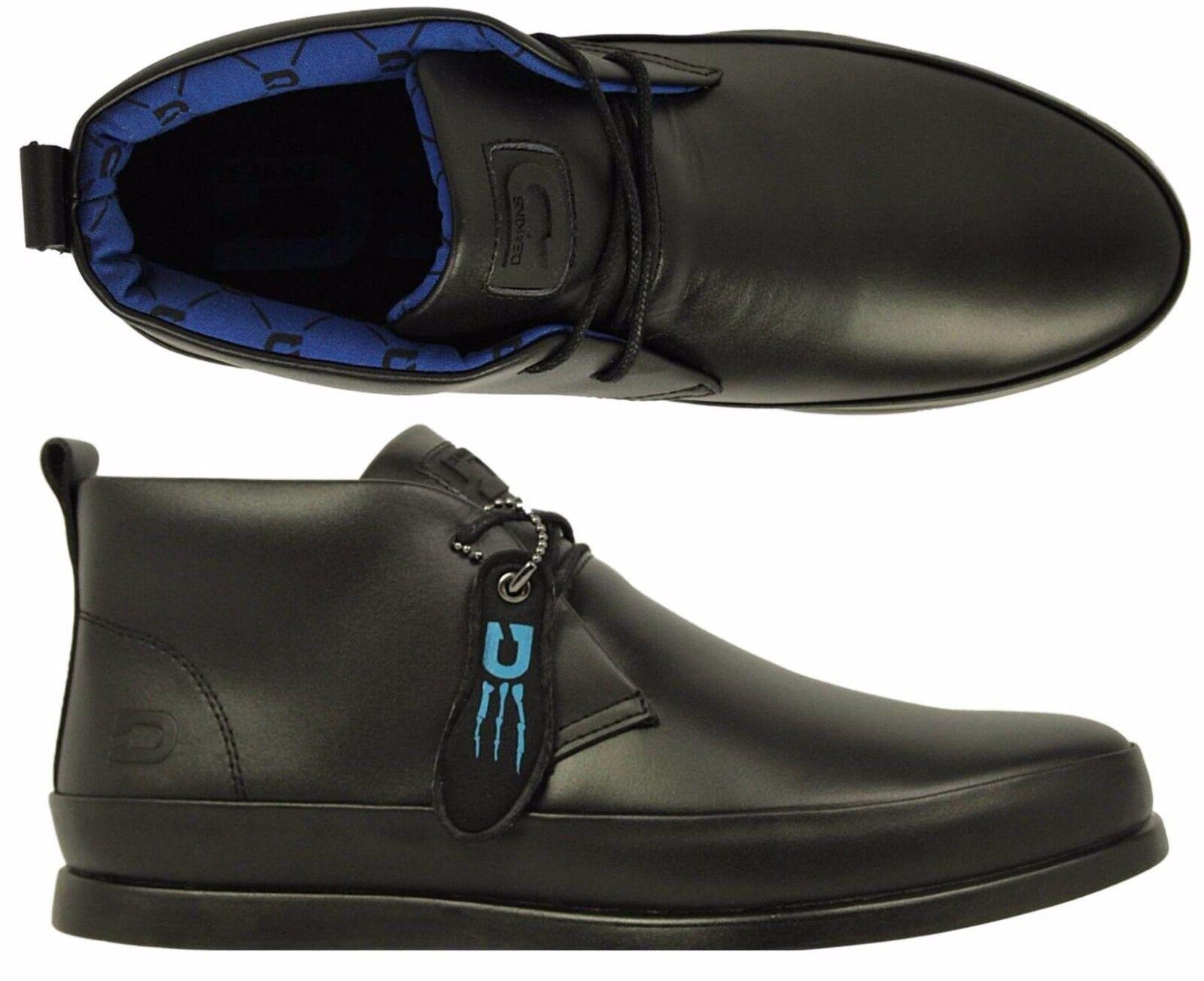 Scarpe da Uomo in Pelle NICHOLAS DEAKINS Rufus nero stivali formali smart di marca