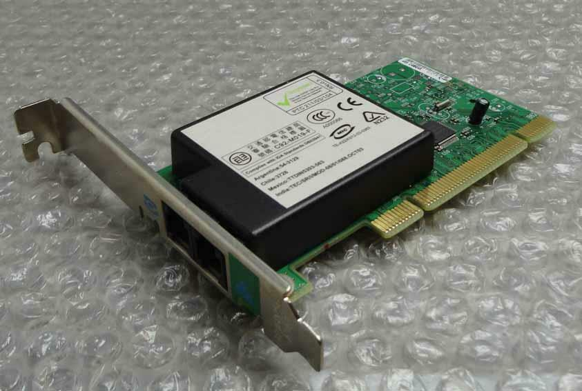 Original genuine Dell 0y2677 y2677 537epg Dimension 3/5/9k pci 56k modem card