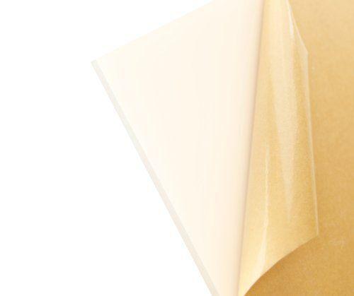 """White Acrylic Plexiglass Sheet  1//8/"""" x 11.5/"""" x 8.25/"""""""