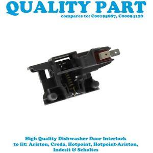 INDESIT DI 6 DI 6000 DI 62 DI 620 DI 620 A Dishwasher Door Lock Assembly