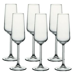 Pasabache-Allegra-Champagne-Flutes-Set-of-6-Glasses-Cocktail-Drink-Christmas