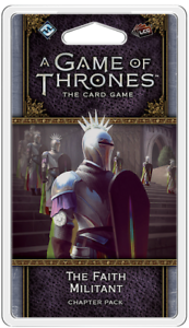 The Faith Militant Chapter Pack A Game of Thrones LCG 2nd Ed