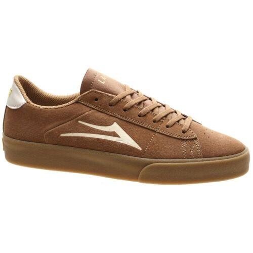 Lakai Newport Tan//Gum Suede Shoe
