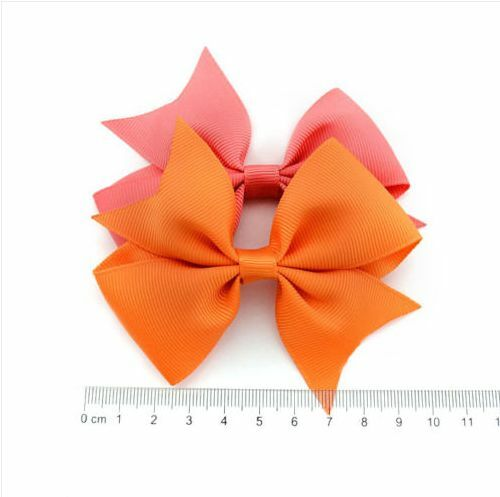 20pcs Kids Baby Girls Flowers Hair Clip Bow Accessories Hairpin Alligator Clip