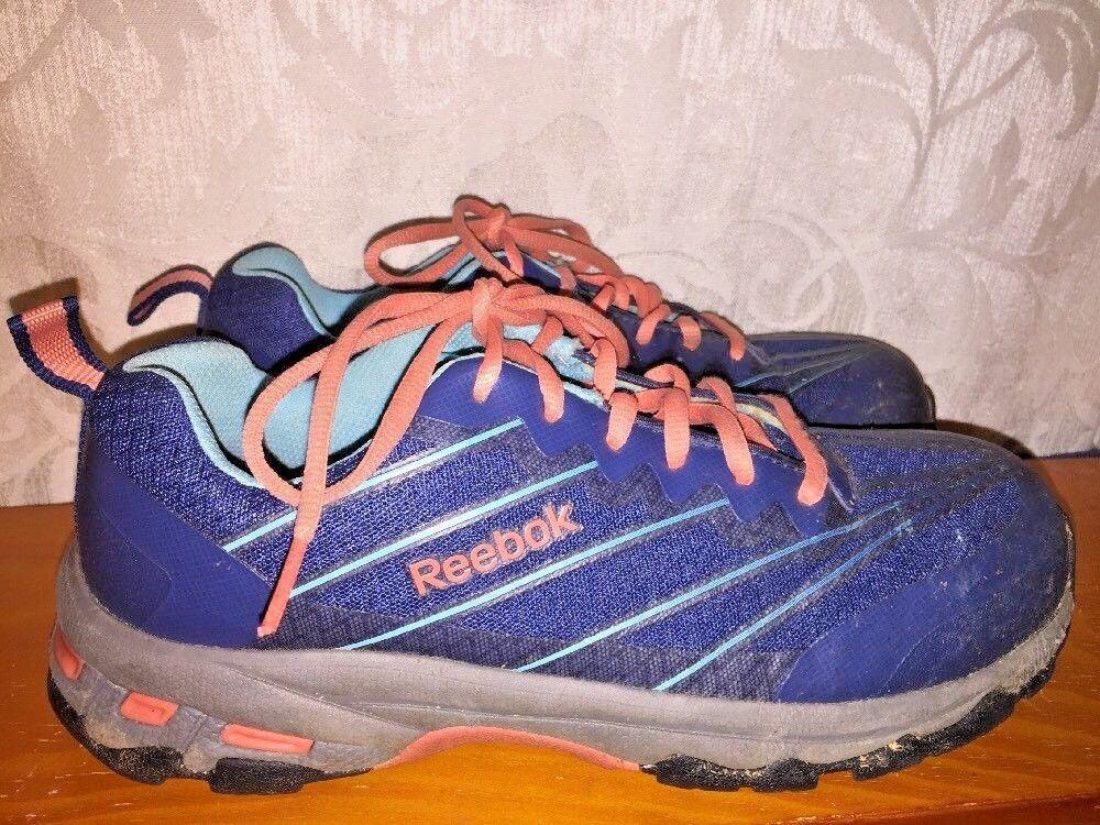 REEBOK Work BEMA Occupational Arion Composite Steel Toe Sneakers shoes Mens Sz 9