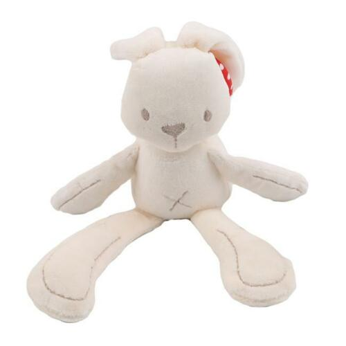 Baby Newborn Crib Rattles Plush Sound Rabbit Pram Hanging Stroller Toys ONE