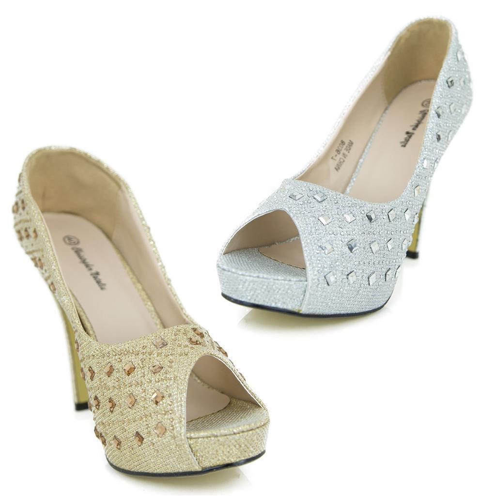 Man's/Woman's Glitter Gorgeous Wedding Bridal Big Diamond Honeymoon UK Reasonable High Heels Women Shoes Reasonable UK price fashionable Shopping promotion GG931 f1f701