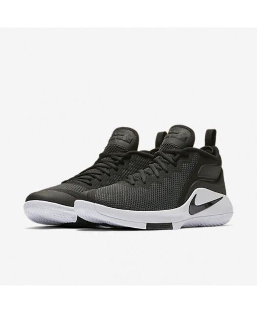 16fa72f9771c ... cheapest nike lebron witness ii black white anthracite 942518 001 mens  10 70138 823a4