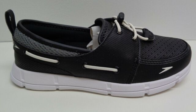 Speedo Women/'s Port Lightweight Breathable Water Shoe Size 9 Black