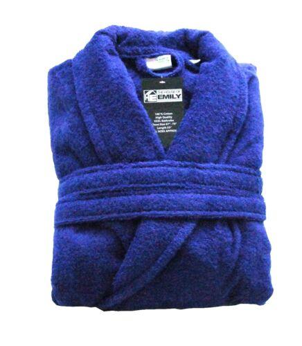 "70/"" Terry Towelling Bath Robe Bathrobe XXXL 100/% Cotton Huge Chest Size 67/"""